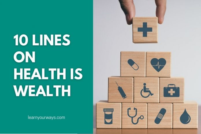 10 Lines Essay on Health